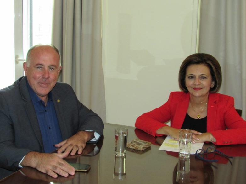 Συνάντηση υφυπουργού ΥΠΕΣ με δήμαρχο και αντιδημάρχους του Δήμου Ρ. Φεραίου