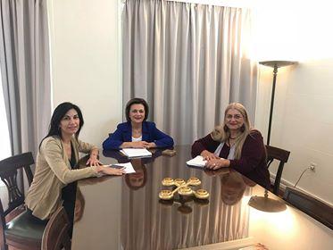 Συναντήσεις με εκπροσώπους κομμάτων  για θέματα Γυναικών και Ισότητας Φύλων