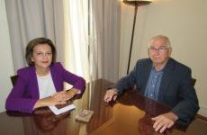 Συνάντηση υφυπουργού ΥΠΕΣ με τον δήμαρχο Σκοπέλου
