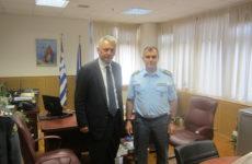 Εθιμοτυπική επίσκεψη δημάρχου Σοφάδων στον ΓΕΠΑΔ Θεσσαλίας