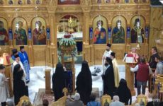 Υποδοχή της Παναγίας Καναλιώτισσας στον Άγιο Δημήτριο Βόλου