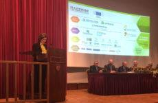 Η  Μ. Χρυσοβελώνη στην τελετή της 7ης απονομής των Ευρωπαϊκών Βραβείων Επιχειρήσεων για το Περιβάλλον