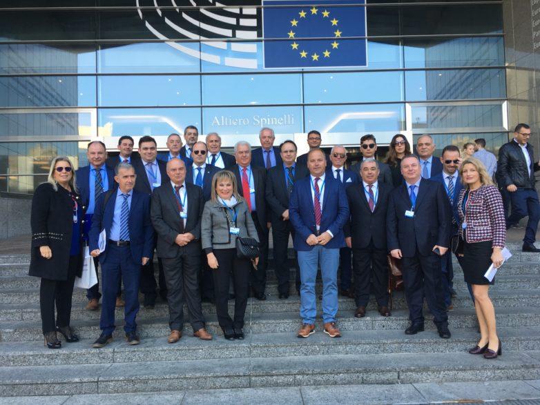 Στις εργασίες του 5ου Ευρωπαϊκού Κοινοβουλίου Επιχειρήσεων ο πρόεδρος του Επιμελητηρίου Μαγνησίας Αρ. Μπασδάνης