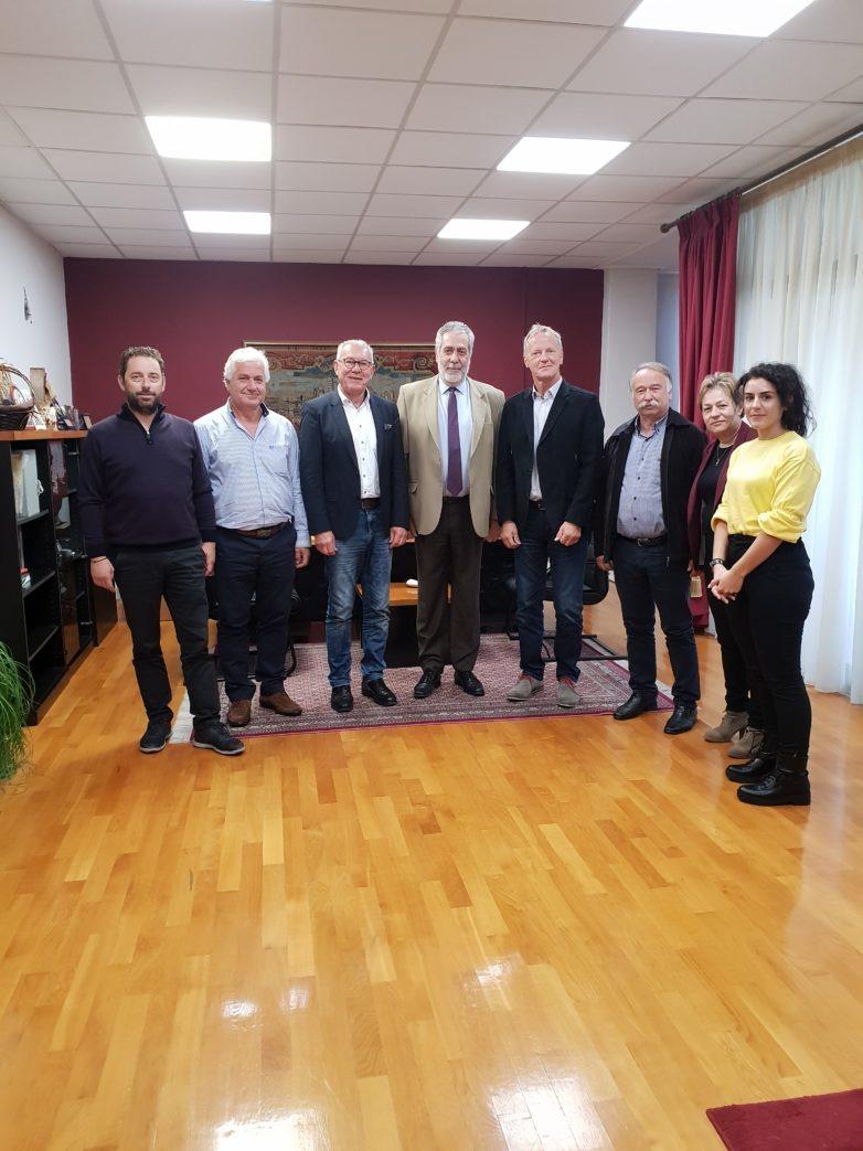 Τον Δήμο Αλμυρού, επισκέφθηκαν Γερμανοί δήμαρχοι