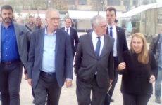 Επίσκεψη ΥΜΕΠΟ Δ. Βίτσα και Πορτογάλου ΥΠΕΣ Ed. Cabrita στη Δομή Φιλοξενίας του Ελαιώνα