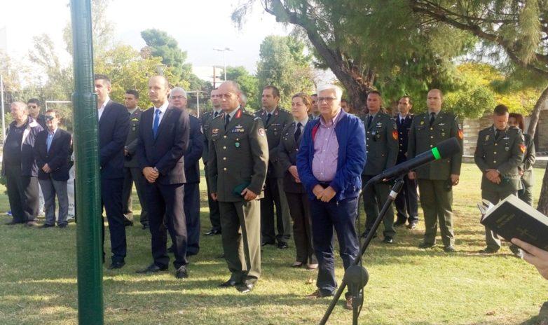Τιμήθηκε σήμερα η επέτειος 74 χρόνων από την αποχώρηση των κατοχικών στρατευμάτων από την πόλη του Βόλου