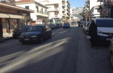 Ασφαλτόστρωση στην οδό Ιωλκού