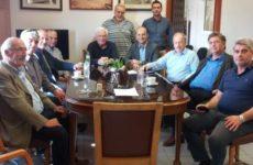 Συνάντηση Γ. Καλτσογιάννη με τον πρόεδρο του ΑΣ Βόλου Ν. Πρίντζο