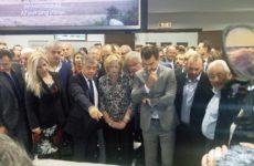Εγκαινιάστηκε η επαναδημιουργία της Λίμνης Κάρλας