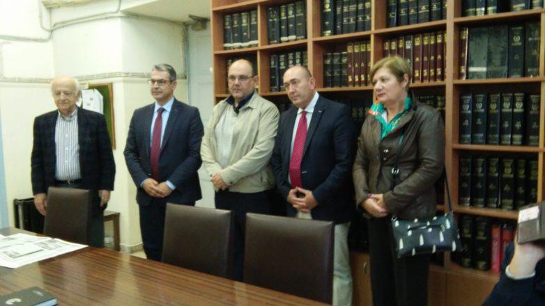 ΕΠΑΜ: Επίσκεψη Δημ. Καζάκη στον Δικηγορικό Σύλλογο Βόλου