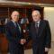 Διμερής συνάντηση ΥΝΑΝΠ με πρέσβη Ιταλίας Luigi Marras