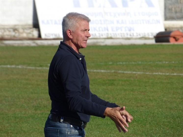 O Λάκης Μπακάλης νέος προπονητής στον Θησέα Αγριάς