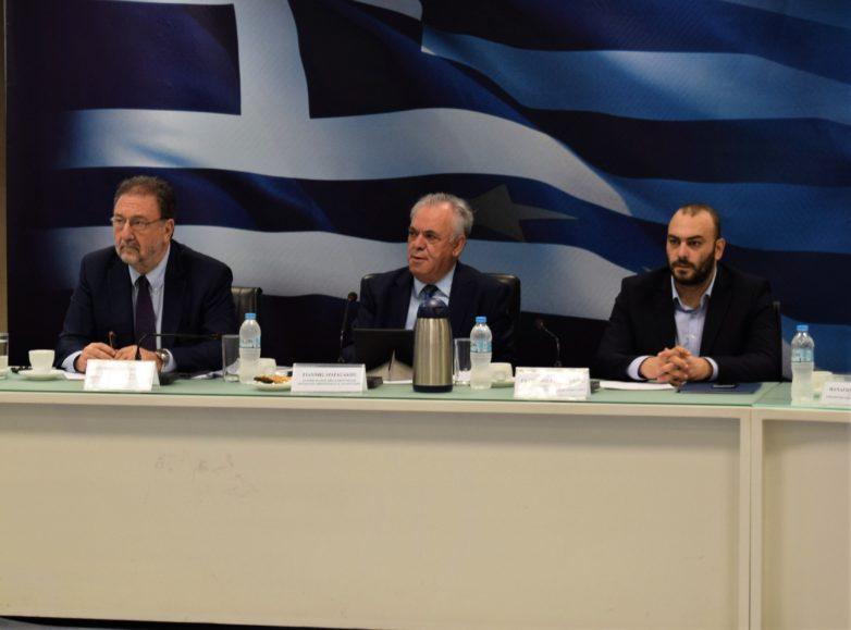 Συνεδρίαση Επιτροπής Υπουργείου Οικονομίας, ΕΕΤ και Διοικήσεων Τραπεζών
