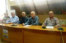Πανσυνταξιουχική συγκέντρωση στην Πλατεία Ρήγα Φεραίου