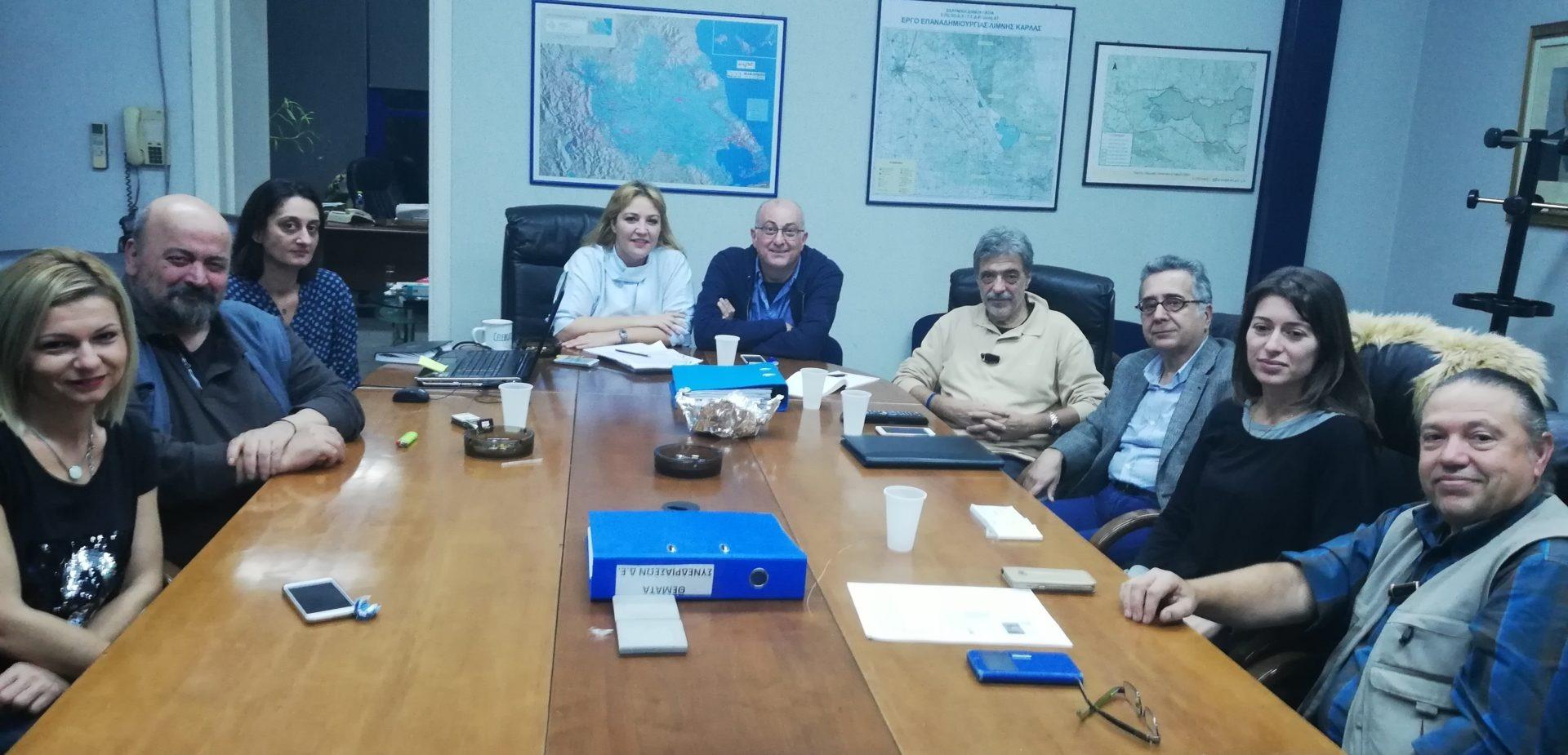 Επί τάπητος τα θέματα λιμανιού- πόλης στη συνάντηση Δ.Ε. ΤΕΕ-ΟΛΒ ΑΕ
