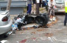 Μεθυσμένος  ο οδηγός του τρικύκλου που τραυματίστηκε σε τροχαίο