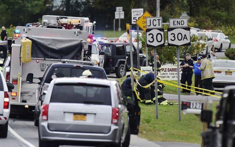 Τραγωδία στη Νέα Υόρκη – Είκοσι νεκροί σε τροχαίο με λιμουζίνα (βίντεο)