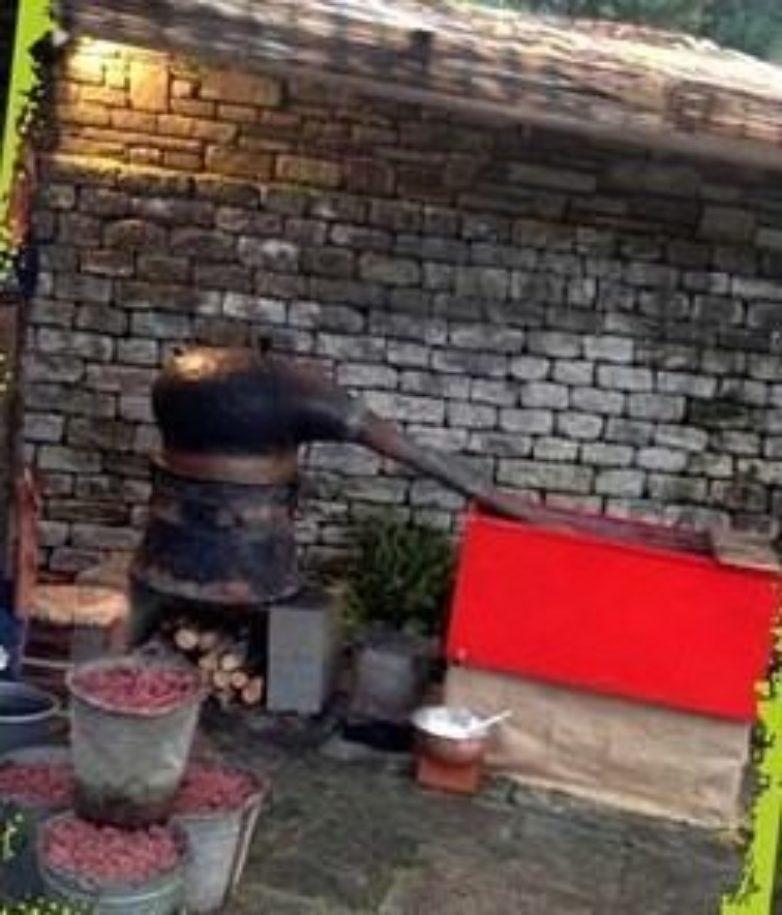 Ανάβουν τα καζάνια για τσίπουρο στο Μούρεσι