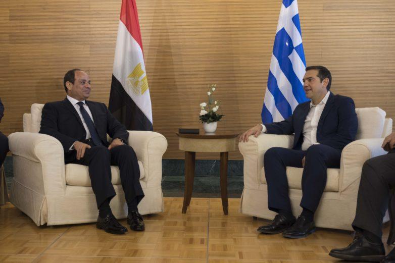 6η Τριμερής Σύνοδος Κορυφής Ελλάδας-Κύπρου-Αιγύπτου στην Ελούντα