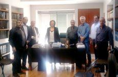 Συνάντηση με την υφυπουργό Εσωτερικών Μ. Χρυσοβελώνη είχε η Δημοτική Αρχή Νοτίου Πηλίου