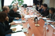 Συνάντηση υπουργού Οικονομίας & Ανάπτυξης με τον αναπληρωτή υπουργό Οικονομίας, Εμπορίου & Βιομηχανίας της Ιαπωνίας