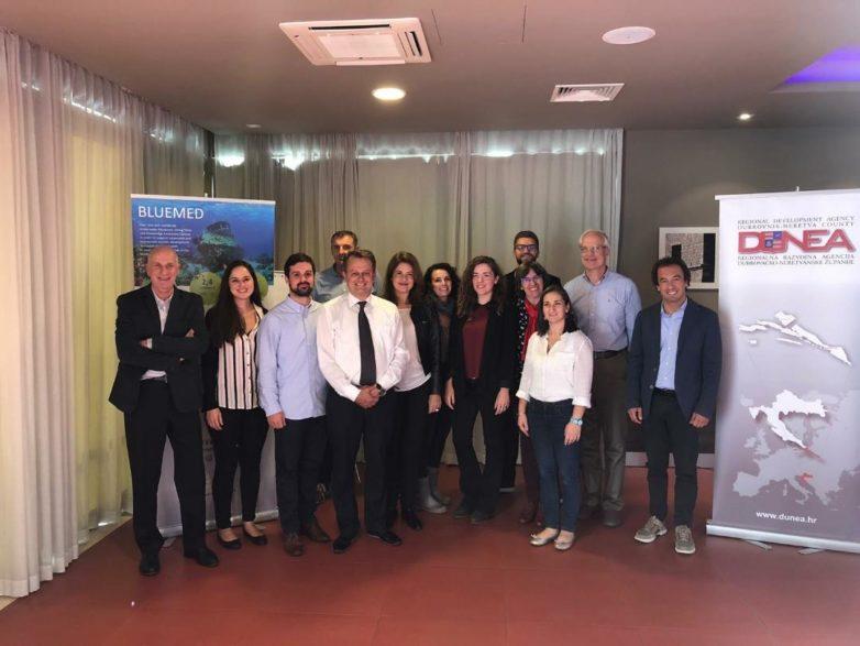 """Στην 4η συνάντηση του Διακρατικού Προγράμματος Ευρωπαϊκής Εδαφικής Συνεργασίας MED 2014-2020 """"BLUEMED"""" η  Περιφέρεια  Θεσσαλίας"""