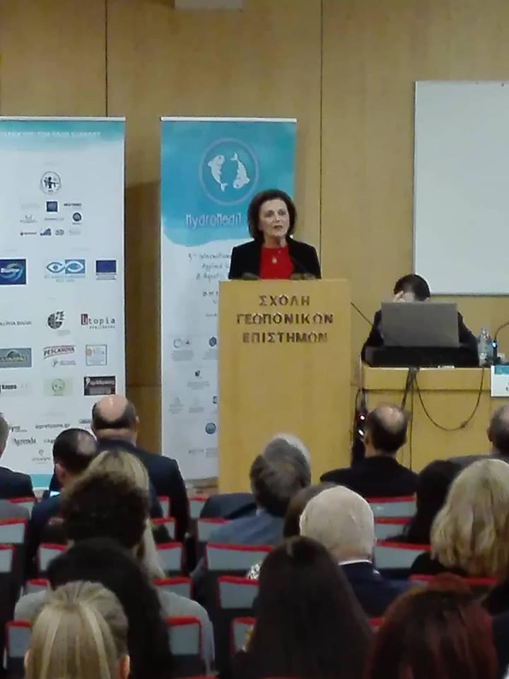 Ομιλία υφυπουργού Εσωτερικών Μ. Χρυσοβελώνη στο 3ο διεθνές επιστημονικό συνέδριο «Hydro MediT 2018»