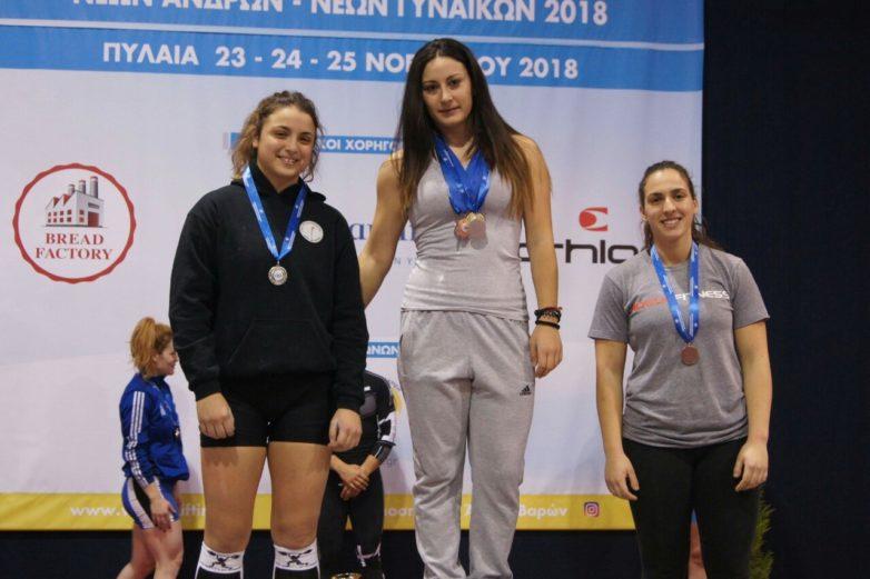 Τρία μετάλλια για την Ειρήνη Γαλάνη του Ολυμπιακού Βόλου