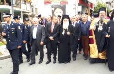 Στην τελετή  ενθρόνισης του νέου μητροπολίτη Λαρίσης και Τυρνάβου Ιερώνυμου, ο συντονιστής Αποκεντρωμένης Διοίκησης Θεσσαλίας – Στερεάς Ελλάδας