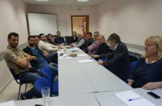 Συνάντηση Εργασίας με τα πρωτοβάθμια σωματεία της ΟΕΒΕ ΛΑΡΙΣΑΣ
