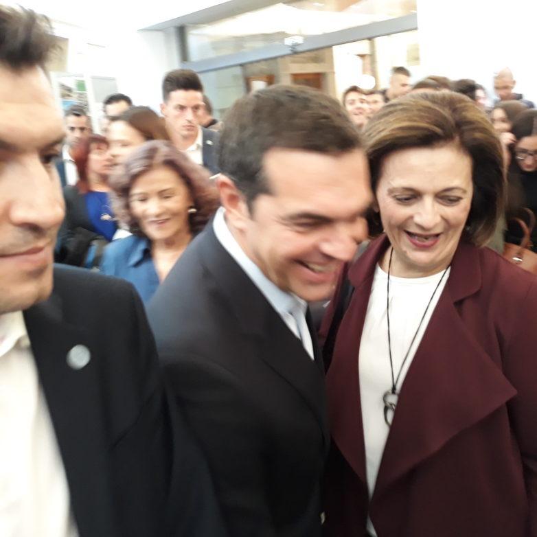 Η υφυπουργός Μ. Χρυσοβελώνη στην «Κ.ΑΛ.Ο. ATHENS EXPO '18»