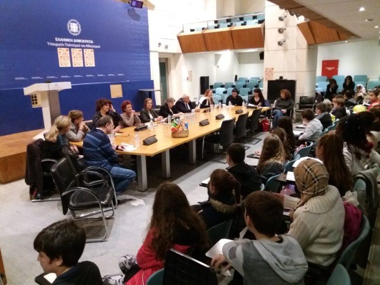 Δράσεις του Υπουργείου Πολιτισμού και Αθλητισμού για την Παγκόσμια Μέρα Δικαιωμάτων του Παιδιού