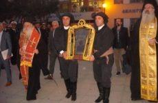 Με τιμές η Παναγία Σουμελά στο Βόλο