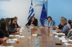 Συνάντηση υφυπουργού  Μ. Χρυσοβελώνη με εκπροσώπους γυναικείων ΚΟΙΝΣΕΠ