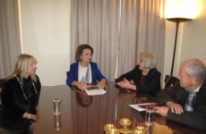 Συνάντηση υφυπουργού Εσωτερικών Μ. Χρυσοβελώνη με εκπροσώπους της  ΑΣΠΕ
