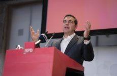 Τσίπρας στο συνέδριο του SPD: Τον Ιούλιο του 2015 αποφάσισα με καθαρό μυαλό