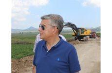 Χρηματοδότηση έργων αγροτικής οδοποιίας στο Δήμο Βόλου