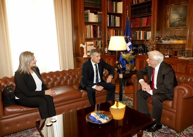 Συγχαρητήρια  Προέδρου της Δημοκρατίας Πρ. Παυλόπουλου για το βραβείο POMPIDOU στο Κέντρο Πρόληψης Λάρισας