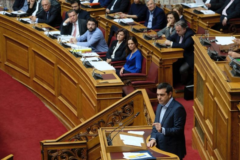 Επιστολή Τσίπρα σε Βούτση: Καμία πρωτοβουλία για αλλαγή του κανονισμού της Βουλής