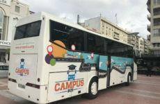 Στο Βόλο σήμερα και αύριο το Freelance Campus Bus