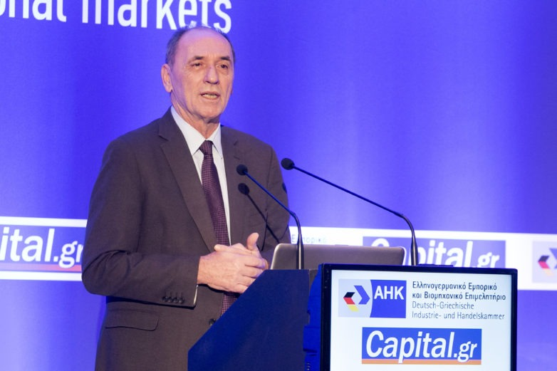 Γ. Σταθάκης στο συνέδριο Capital+Vision: Επενδύσεις 33 δισ. ευρώ και ενεργειακές παρεμβάσεις στις κατοικίες
