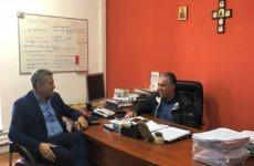 Συνάντηση Χαλέβα-Σταυρίδη για θέματα της Νέας Ιωνίας
