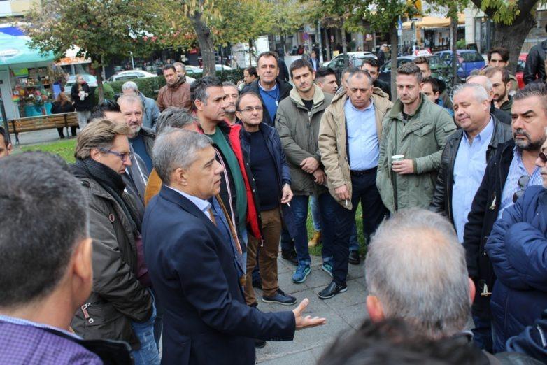 Με εκπροσώπους Συλλόγων Εκπαιδευτών Οδήγησης της Θεσσαλία συναντήθηκε ο περιφερειάρχης