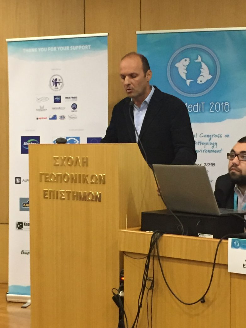 Παρέμβαση Γ. Καλτσογιάννη, αντιπεριφερειάρχη Περιβάλλοντος στο  HydroMedit 2018