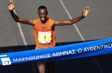 Ο Κενυάτης Μπρίμιν Μισόι ο μεγάλος νικητής της κλασικής διαδρομής του 36ου Μαραθωνίου