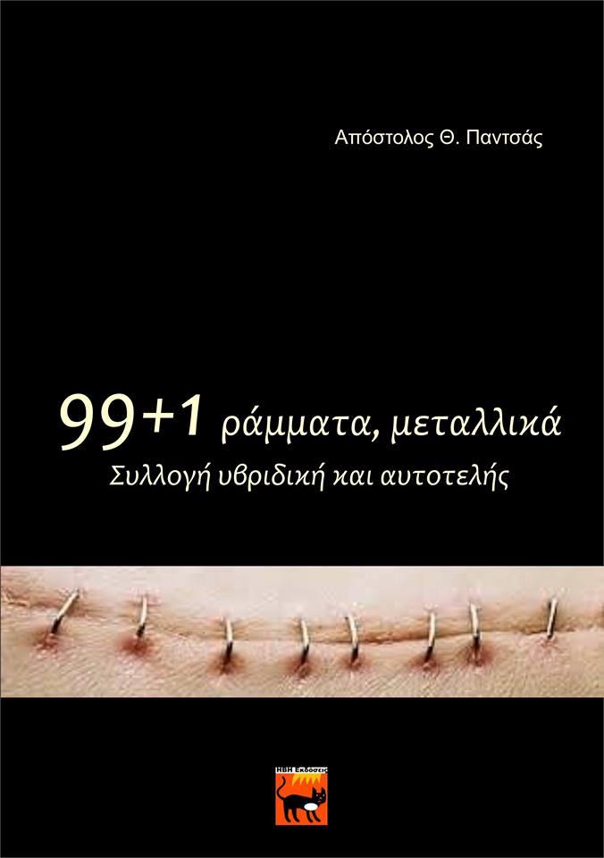 Παρουσιάζεται η υβριδική συλλογή του Απόστολου Παντσά «99+1 ράμματα, μεταλλικά»