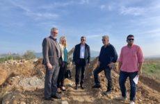 Την ανακατασκευή της γέφυρας στο Πλατανόρεμα Αλμυρού επέβλεψε ο περιφερειάρχης Θεσσαλίας Κώστας Αγοραστός
