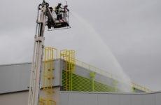 Με επιτυχία ολοκληρώθηκε η άσκηση αντιμετώπισης πυρκαγιάς σε βιομηχανία