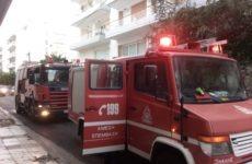 Φωτιά σε μπαλκόνι διαμερίσματος στη Ν. Δημητριάδα