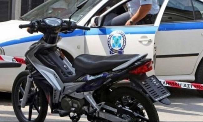 Ελαφρύς τραυματισμός 70χρονου μοτοποδηλάτη στη Νέα Ιωνία